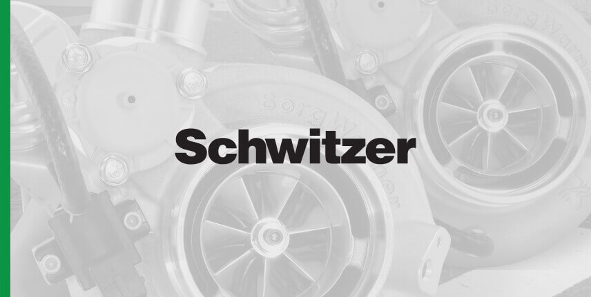 Schwitzer Turbochargers for diesel and gasoline applications